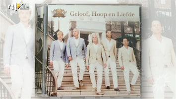 RTL Boulevard Gordon en LA the Voices hun CD presentatie
