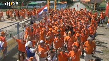 RTL Nieuws Oranjelegioen in feestende stoet naar Charkov