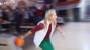 RTL Nieuws Willem-Alexander en Maxima op de bowlingbaan