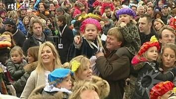 RTL Boulevard De Oranjes vieren Sinterklaas
