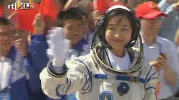 RTL Nieuws Eerste Chinese vrouw in de ruimte