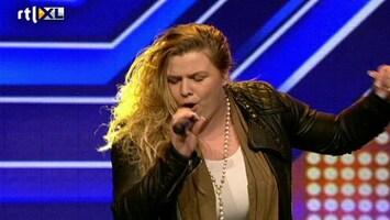 X Factor - Noëlle Visser Ademt Amy