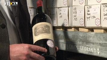 RTL Nieuws Crisis treft Franse president: wijnen onder de hamer