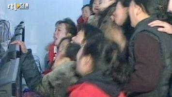 RTL Nieuws Noord-Korea in diepe rouw