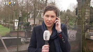 RTL Nieuws Verslaggever: 'Veel Duitse tv-camera's bij huis Beatrix'