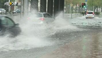RTL Nieuws Wateroverlast door hevige regen