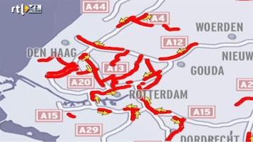RTL Nieuws VID: Enorme puinhoop op A20