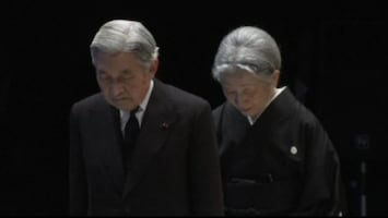 RTL Nieuws Japan eert slachtoffers tsunami
