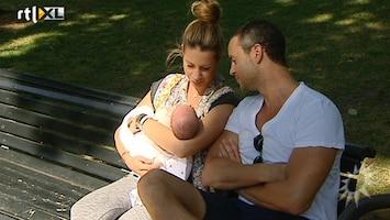 RTL Boulevard Renee Vervoorn babybezoek