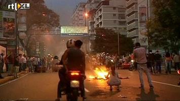 RTL Nieuws Grote onlusten na verkiezingen in Venezuela