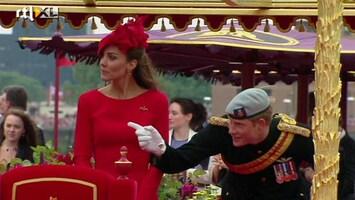RTL Nieuws Britten vieren 60-jarig jubileum Elizabeth