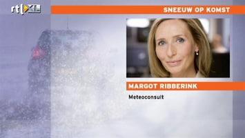 RTL Nieuws Meeste sneeuw valt tussen avondspits en ochtendspits