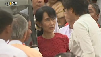 RTL Nieuws San Suu Kyi wint in Birma