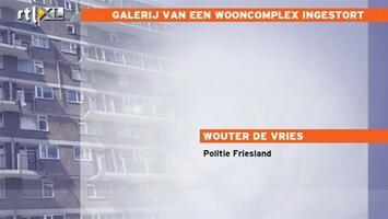RTL Z Nieuws Galerij wooncomplex Leeuwarden ingestort