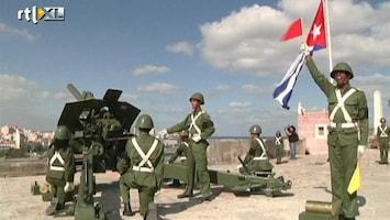 RTL Nieuws Cubaans kanon-saluut voor Chavez