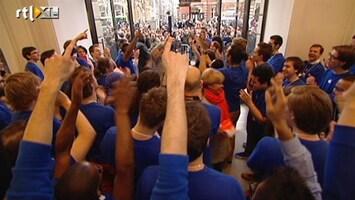 RTL Nieuws Gekte bij opening Apple Store in Amsterdam