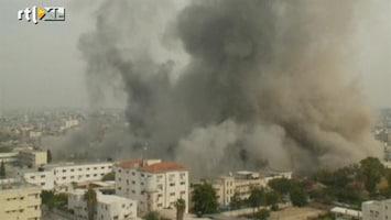 Editie NL Keiharde raketinslagen in Gaza gefilmd