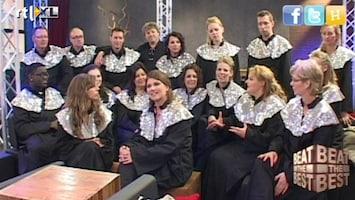 Beat The Best - Backstage Met Chosen Gospel Choir