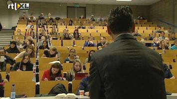 RTL Nieuws Studenten moeten deeltijdstudie zelf betalen