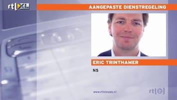 RTL Nieuws NS past dienstregeling weer aan