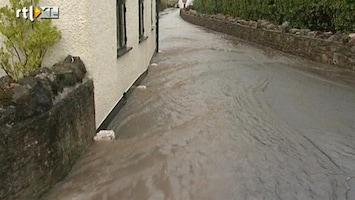 RTL Nieuws Wateroverlast in zuidwesten Engeland