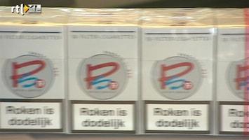 RTL Z Nieuws Pompstations verkopen hun eigen merk sigaretten.