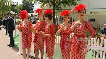 RTL Boulevard Modepolitie bij Royal Ascot