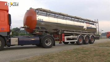 RTL Nieuws Watertekort Texel: tankwagens rijden af en aan