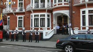 RTL Nieuws Brittannië boos op Ecuador om Assange