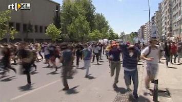 RTL Nieuws Massale protesten tegen Turkse regering
