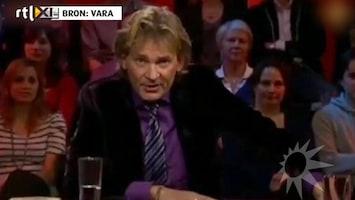 RTL Boulevard Matthijs van Nieuwkerk onwel