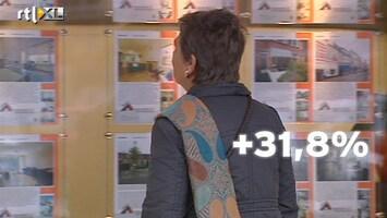 RTL Nieuws Eind 2012 enorme stijging huizenverkoop