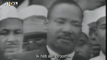 RTL Nieuws Herdenking I have a dream-speech