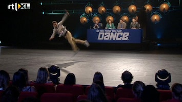 So You Think You Can Dance - Miguel Knalt Het Podium Op