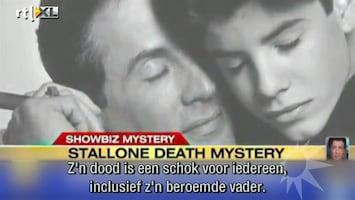 RTL Boulevard Mediagekte rondom dood Sage Stallone