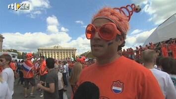 RTL Nieuws Oranjelegioen vol vertrouwen in Charkov