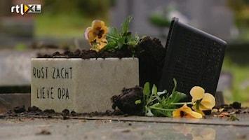 RTL Nieuws 70 graven vernield in Assen