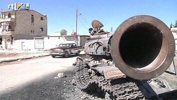 RTL Nieuws Syrische strijdkrachten bestoken Damascus met raketten