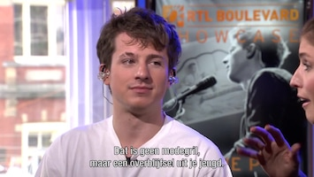 RTL Boulevard Secret Showcase: Charlie Puth Afl. 1