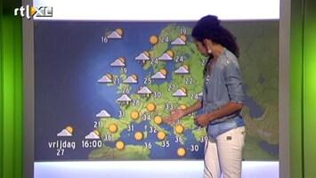 RTL Weer Vakantie Update 25 juli 2013 12:00 uur