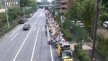 RTL Nieuws Japanner demonstreren netjes tegen Fukushima