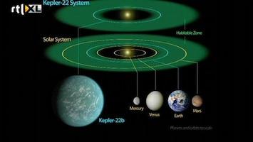 RTL Nieuws Planeet ontdekt die op Aarde lijkt