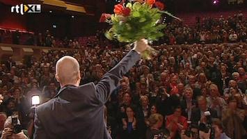 RTL Nieuws Samsom op PvdA-schild gehezen