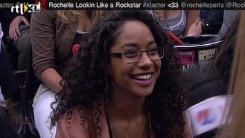 X Factor Jessica en Tania in de zaal