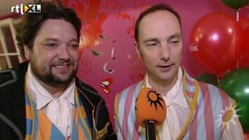 RTL Boulevard Premiere theaterstuk Mike en Thomas