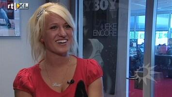 RTL Boulevard Britt Dekker terug van Playboy-avontuur