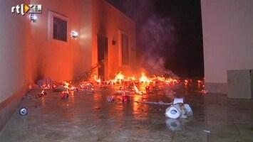 RTL Nieuws Ambassade VS in Libië aangevallen om 'islamfilm'