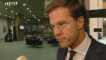 RTL Nieuws Premier baalt van fout Miljoenennota