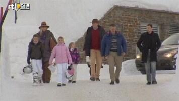 RTL Nieuws Koninklijke familie bijeen in Lech