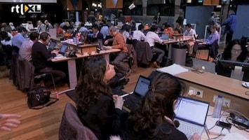 RTL Nieuws Ruim 1100 journalisten in bomvol perscentrum